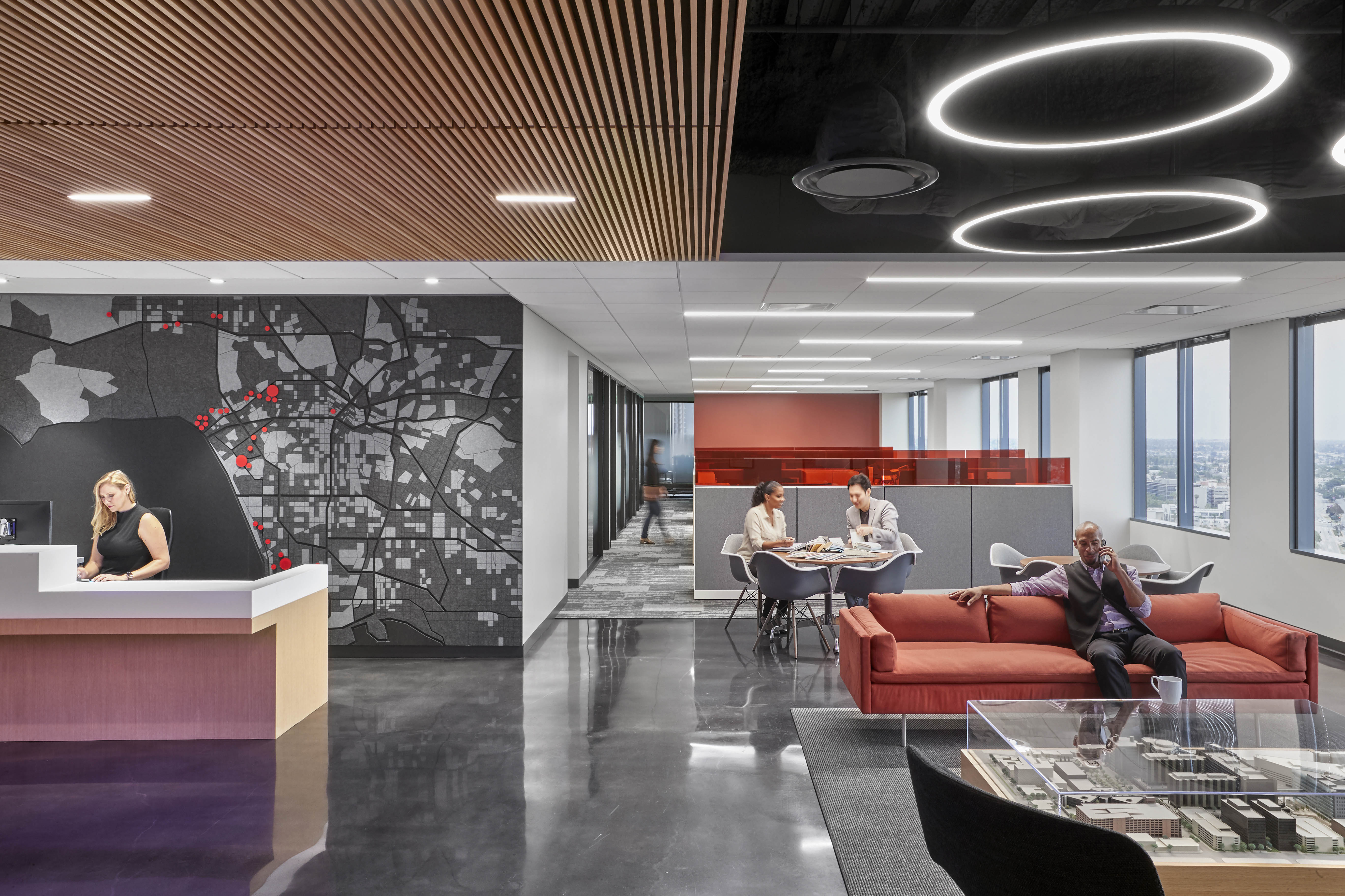 Interactive Work Spaces Fosters Connectivity and Collaboration at Cedars-Sinai 6500 Wilshire